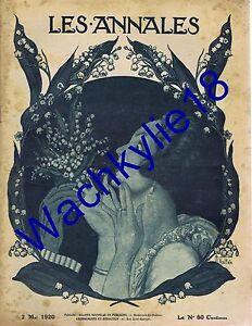 Les-annales-n-1923-du-02-05-1920-Armand-Vallee-Muguet-Premier-mai-Honnorat