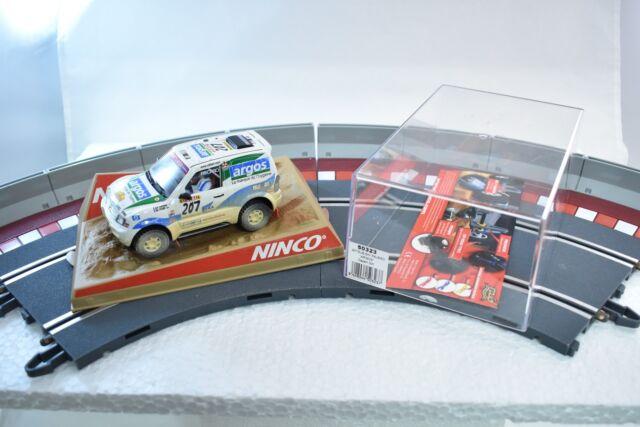 Ninco Mitsubishi Pajero Argos Dirt Effect 132 Slot Car 50323 For