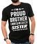 miniature 1 - Gift For Brother Funny Birthday Gift For Brother Proud Brother Funny T shirt
