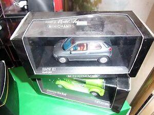 MINICHAMPS-1-43-BMW-E-1-1993-MYSTIC-GREY-METALLIC-LIMITED-EDITION-NEUF-EN-BOITE