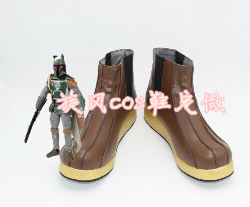 Star Wars Boba Fett Cosplay Shoes Cos Shoes Free Shipping! Details about  /NEW