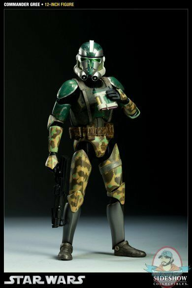 Commander Gree Militaries of Star Wars 12 inch Figure Figure Figure by Sideshow Collectibles 38ab87