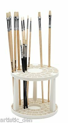 brush holder  brusher storage unit brush stand 49 slot brush organiser stand