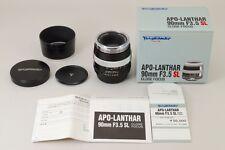 2864#GC Voigtlander APO Lanthar 90mm f/3.5 SL Close Focus Lens For Pentax K Mint