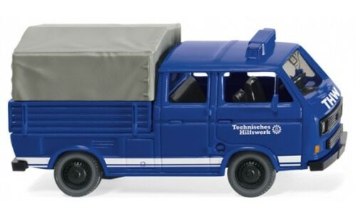 Wiking THW-VW t3 doble cabina 1:87 #029307