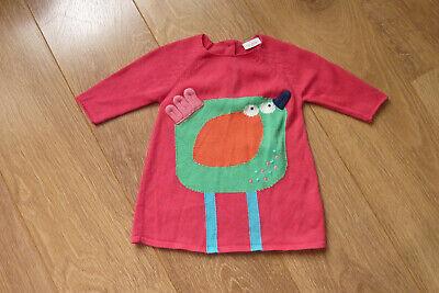 Focoso Condizioni Eccellenti Rosso Accanto Dress 3-6 M Chic Bene In Maglia Di Pollo-mostra Il Titolo Originale Reputazione In Primo Luogo