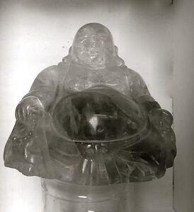 Dick addominale Buddha Hotai FLUORITE EDELSTEIN c1323 Taglia