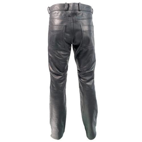 30% OFF RICHA CLASSIC Black Leather Motorbike Jean Trouser Cafe Racer/Cruiser