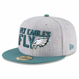 94614e4e5 PHILADELPHIA EAGLES NFL NEW ERA 59FIFTY ON STAGE DRAFT DAY FITTED ...