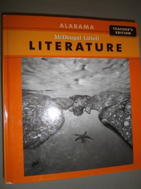 McDougal Littell Literature Grade 9 Alabama Teacher S Edition 9780618901784