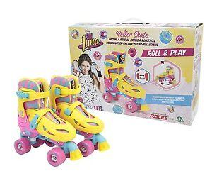 Disney-Soy-Luna-Roller-Skates-Training-Original-TV-Size-27-30-Giochi-Preziosi