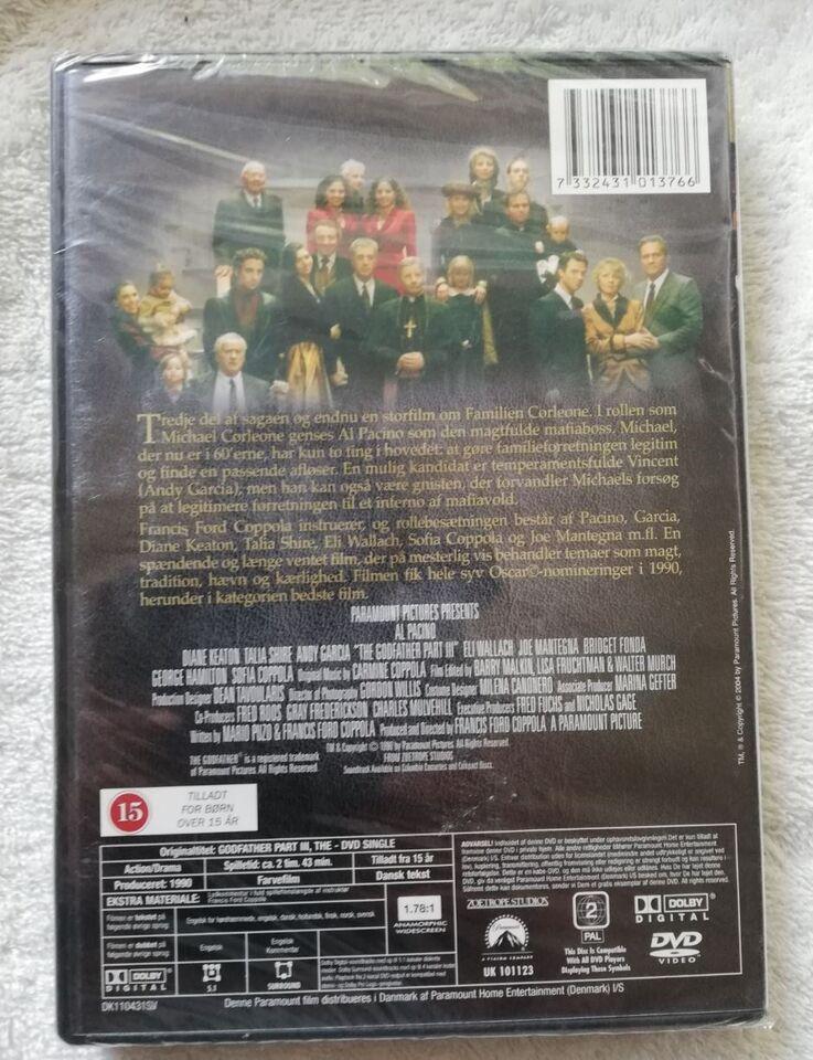 The Godfather Part III, DVD, drama