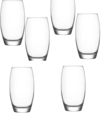 GIFT SET LAV LIBERTY Long Drink Glass tumblers  6 Pcs Gift Box 360ml