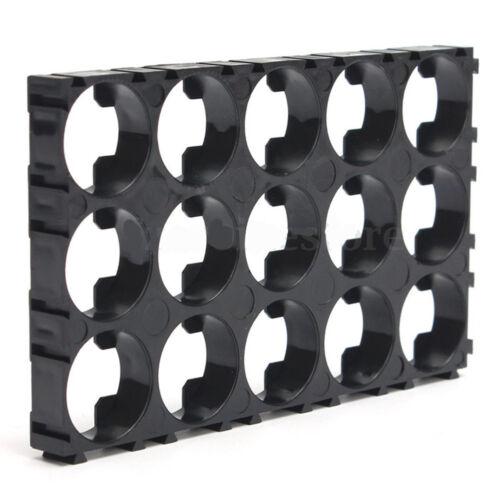 10PCS 18650 Battery 3x5 Spacer Radiating Shell EV Pack Plastic Heat Holder DIY U