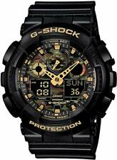 G-shock Casio Black Camouflage Dial Mens 55mm Watch Ga-100cf-1a9