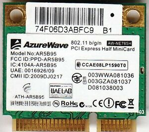 Qualcomm Atheros Ar5b95 Wireless Network Adapter Download Stats