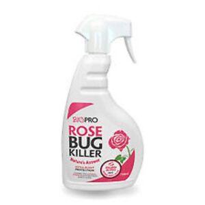Objectif 1 X Biopro Rose Bug Killer Natural Plant Protection Greenfly 750 Ml-afficher Le Titre D'origine ProcéDéS De Teinture Minutieux