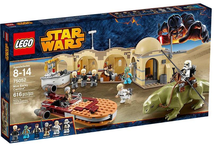 Bre nuovo LEGO estrella guerras  75052 Mos Eisley Cantina  w Greedo Bith Musician Retire  100% di contro garanzia genuina