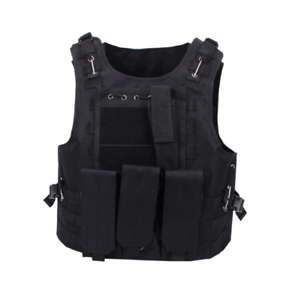 Tactical MOLLE Armor Plate Vest Mag Pouches SWAT  Police Military Camo Vests  cheapest price