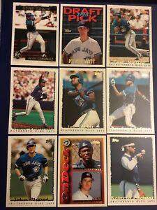1995-Topps-TORONTO-BLUE-JAYS-Complete-Team-Set-w-Traded-26-Alomar-Molitor-Carter