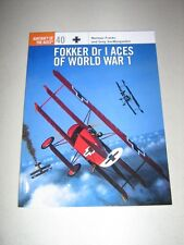 Aircraft of the Aces: Fokker Dr I Aces of World War I 40 by Norman Franks (2001, Paperback)
