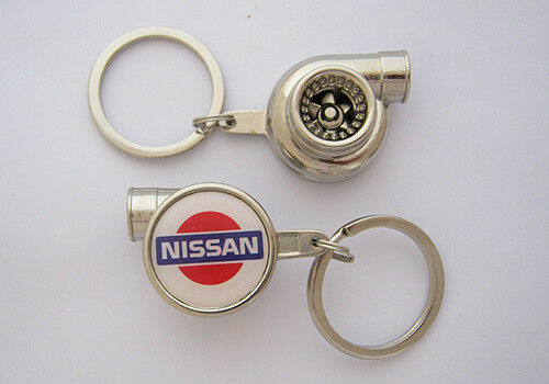 Spinning Turbo Keychain for Nissan JDM