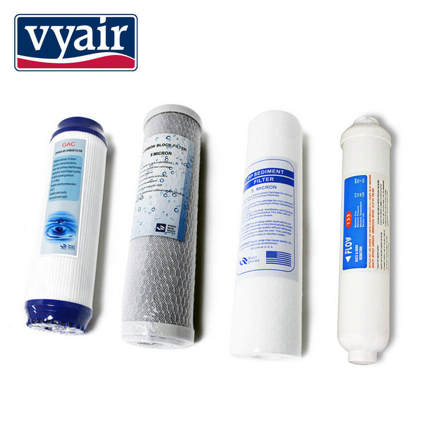 VYAIR Replacement Water Filter Set for RO-1 Reverse Osmosis System