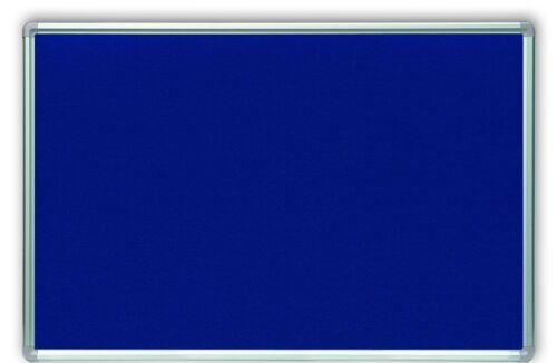 Filztafel blau 120x90cm # 61563BL Textiltafel Pinnwand