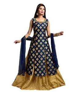 22ea5b38052 Image is loading Indian-Designer-Party-Wear-SEMI-Stitched-indo-western-