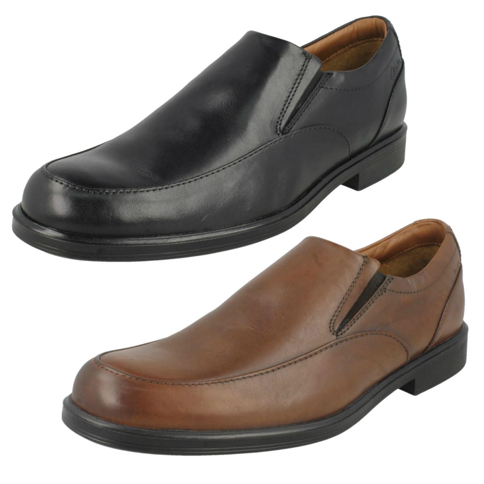 Mens Clarks Slip On shoes 'Gabson Step'