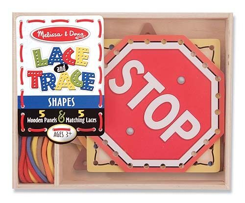 Melissa & Doug Lace & Trace Shapes #3780 BRAND NEW