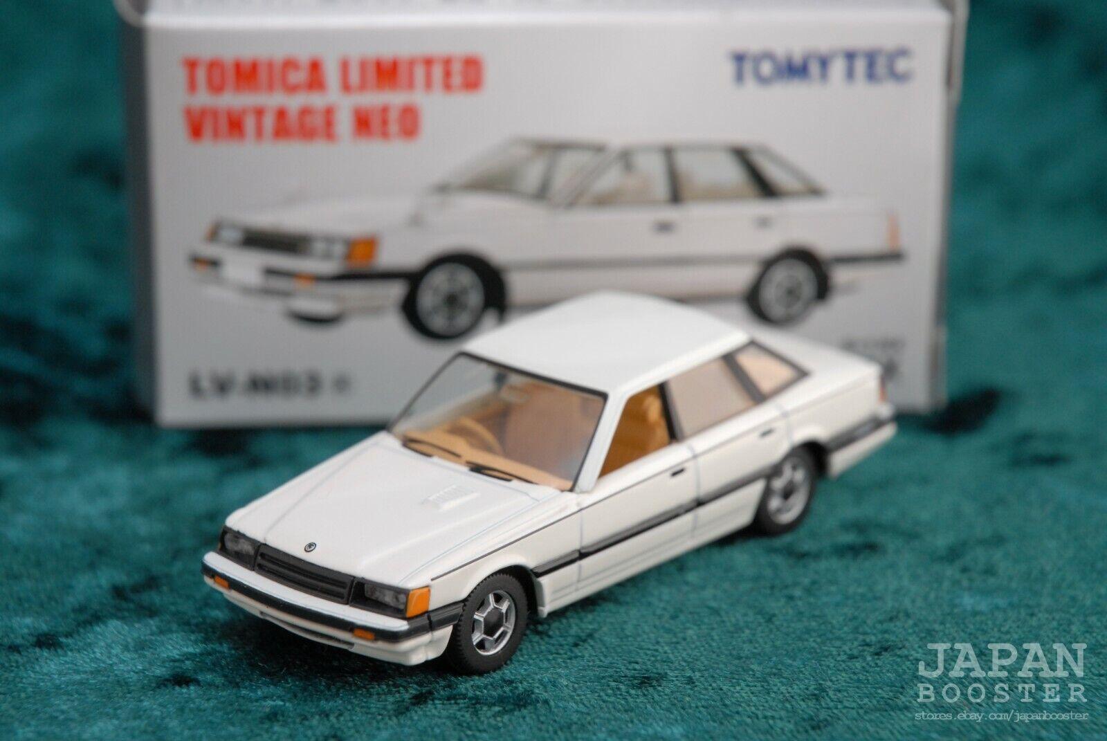 Tomica Limited Vintage Neo Lv N03a Nissan Leopard Tr X White For Sale Online Ebay