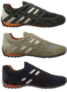 Tienda Leeds diámetro  GEOX Serpiente Zapatos Hombre Mocasines Deporte Sneaker U4207L 02214 C1300  C0845 | eBay