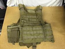 RBAV-SF Releasable Body Armor Vest SDS BAE Systems Khaki XL w/ Hydration Pouch