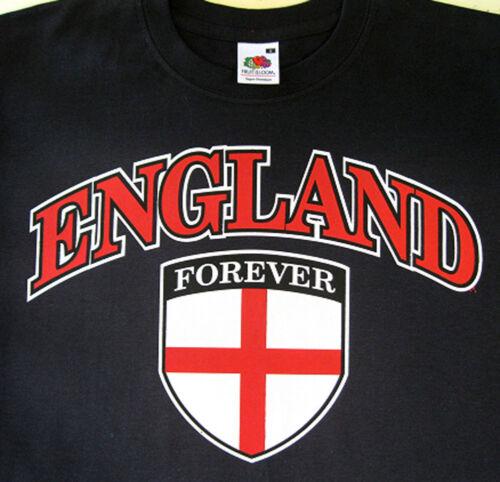 England Shirt Flag Forever Logo Men T-Shirts Sizes Small-XXL