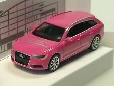 Herpa Audi A6 Avant, pink, 18. Börse Ingolstadt 2011, lim. 777 Stück - 1/87