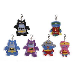 Uglydolls DC Comics Clips Ice Bat Batman Babo Superman Tray Wonderwoman Robin