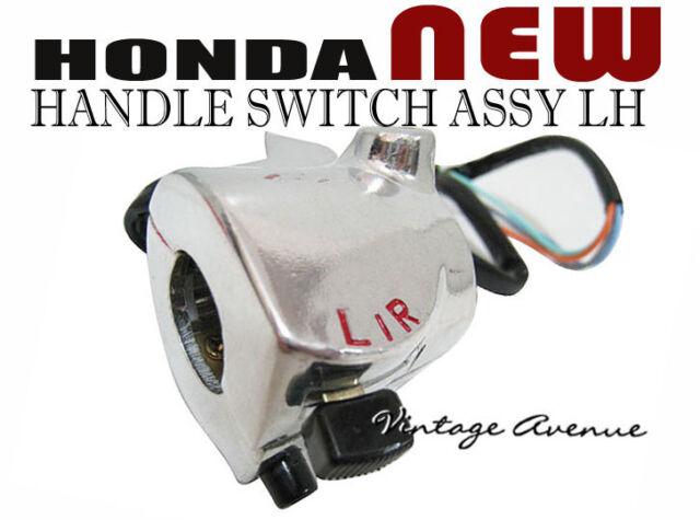 HONDA S90 CS90 CL90 SS50 CS50 CL50 S65 CS65 HANDLE SWITCH LH [CB1]