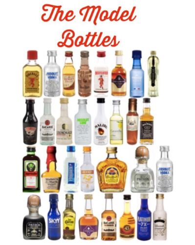 Stocking Stuffer Harry Potter Labels For Mini Liquor Alcohol Bottles Potions