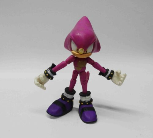 "Sega Jazwares Sonic The Hedgehog 3/"" Inch Espio the Chameleon action figure"
