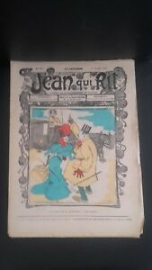 Rivista Jeans Che Rit N° 326 1907 Giornale Illustre che Appaiono Il Venerdì ABE