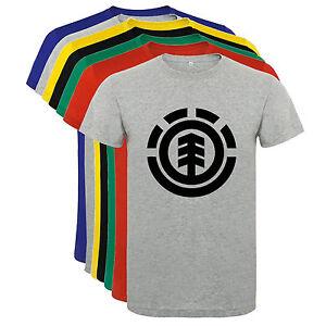 Camiseta-Element-skate-deportes-snow-Hombre-varias-tallas-y-colores-a023