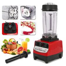 Commercial Super Food Blender Heavy Duty Kitchen Mixer Milkshake Smoothie 2200w