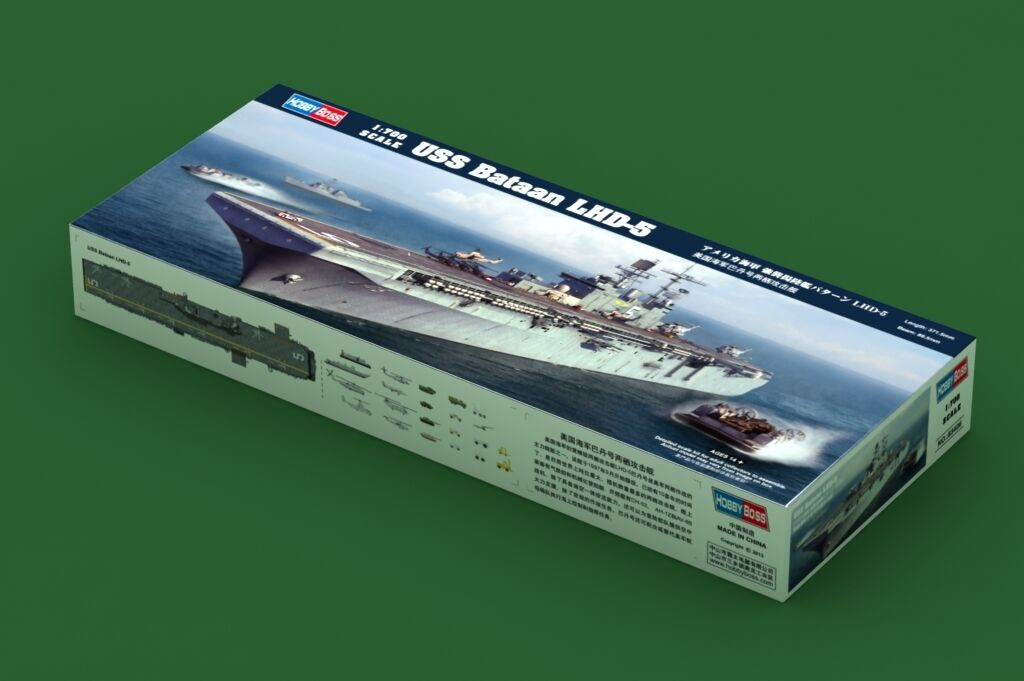 83406 Hobby Boss USS Bataan Amphibious Assault Ship Warship 1 700 Model Kit DIY