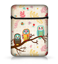 "cute owl Flip Bag Sleeve Case Cover For 15"" 15.4"" 15.5 15.6"" Laptop Notebook"