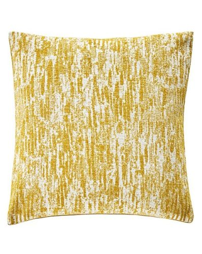 Jd Williams Mercury Yellow  43cm X43cm Square Cushion With Bounce Back Inner Pad