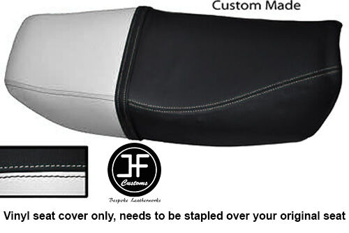 RED /& BLACK CUSTOM FITS HONDA CB 250 RS DUAL LEATHER SEAT COVER ONLY