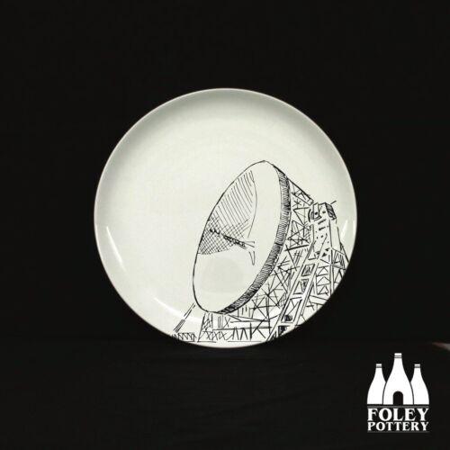 GB: Jodrell Bank Space astronaut Fine bone China by Foley Pottery Telescope