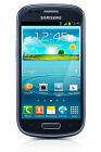 Samsung Galaxy S III Mini SM-G730A - 8GB - Pebble Blue (AT&T) Smartphone