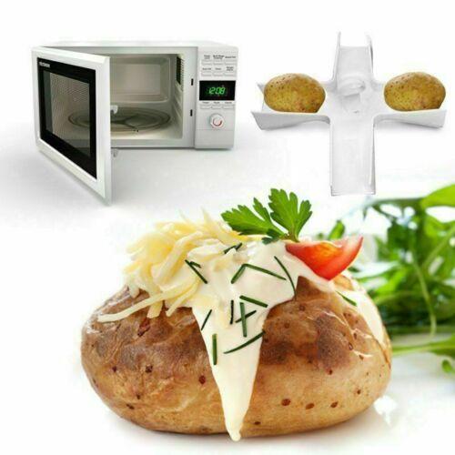 Microwave Jacket Potato Baker spuds spike holding